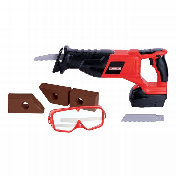 My First Craftsman Reciprocating Saw With Goggles